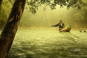 Fishing by vinayan