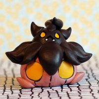 Pumpkaboo inspired Pokemon LPS custom by pia-chu