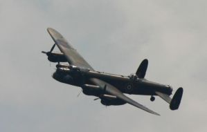 BBMF LANC FLYING PASSED 2 by Sceptre63