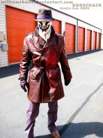 Rorschach - Comic-con 2009 by williamshade