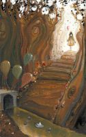They all float down here by JadeMoonRabbit