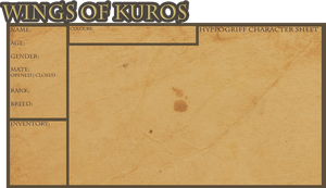 Hyppogriff | Character sheet | Wings of Kuros by jodifarrow22