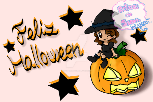 Halloween esta cerca/Halloween is almost here.... by Lucia-95RduS