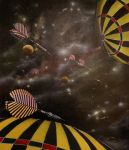 Darts in space by Pappa60