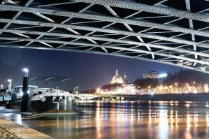 Under the bridge by Attila-Le-Ain