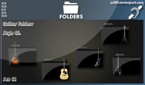 Guitar Folders - Style 01 Set 01 by od3f1