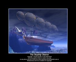 The Skyship Oberon by fraterchaos