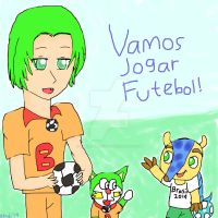 Dorarinho and Fuleco by alindicollection