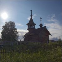The chapel at the old churchyard by NikolaiMalykh