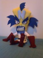 Dr. Cortex Doll from Crash Bandicoot Series by Noxonius