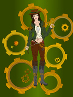 Steampunk Girl by Royteray