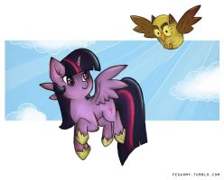 Flying together by erysz