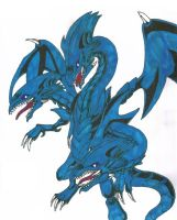 Blue-Eyes Ultimate Dragon by hitokage195