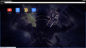 My First Google Chrome Theme by UnknownGuy10