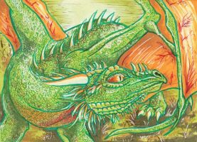 Swamp Solitude ACEO by Redwall151