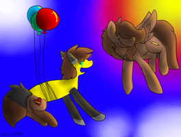 Balloons by Kklobster
