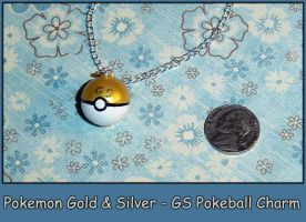 Pokemon - GS Pokeball Charm by YellerCrakka
