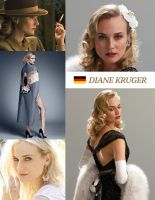 Diane Kruger by MAR10MEN