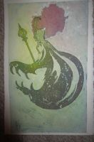 watercolor painting .:loki:. by Blue-Strawberryy