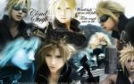 Cloud Strife 'We Will Fight..' by PokeTheCactus