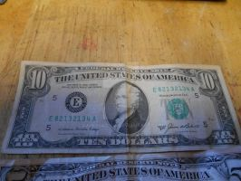 Series 1985 $10 Bill by canona2200