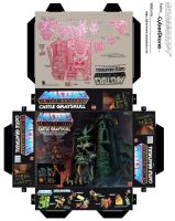Mini Castle Grayskull Toy Box by CyberDrone