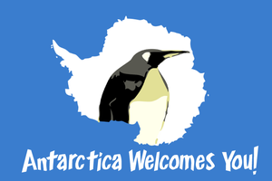 Antarctica Welcomes You by MrAngryDog