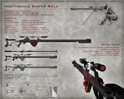 Nightingale Sniper Rifle by form2function