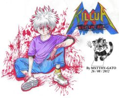 Killua Zaoldyeck (Finished) by Zero-White-tiger