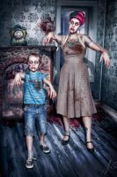 Zombi Mother by falt-photo