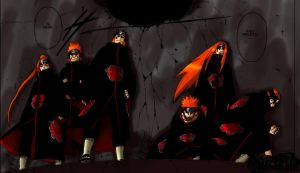 The 6 pein -Naruto 379 v1 by RisingVexx