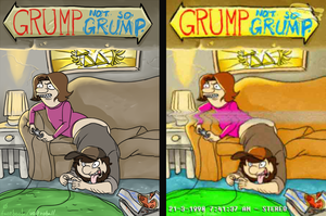 GrumpAndNotSoGrump by average-artist