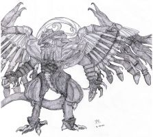 Bahamut by fanchielover15