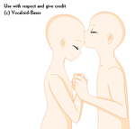 Rin and Len Forehead Kiss Base by Vocaloid-Bases