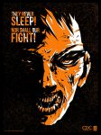 Zombie Propaganda - They Never Sleep by ron-guyatt