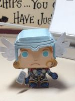 Paper craft Thor by biostings