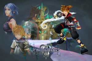 Kingdom Hearts 3 by orcalus