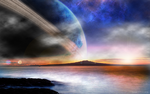 Planet Scene 1 by MaTth1as