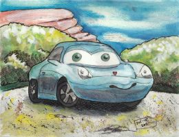Sally from Cars by Vampiric-Conure