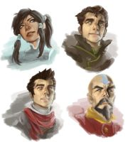 LOK Speed Painting Portraits 2 by artmaiar