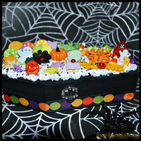 Halloween Coffin Deco Box by BloodCross