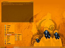 JWM theme - Infected -final- by UnixPunx83