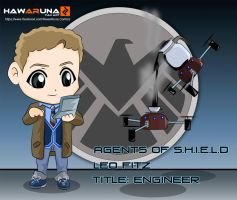 Agent Leo Fitz - Agents of S.H.I.E.L.D. by Hawaruna