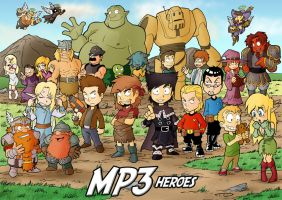 MP3 Heroes by DarkTod
