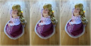 Tangled Rapunzel cosplay 8 by KatintheAttic