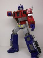 FIST OF JUSTICE! OPTIMUS PRIME STYLE! by forever-at-peace