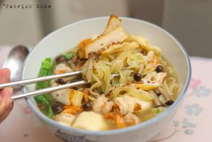 Hand-made noodles 1 by patchow