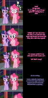 Pinkie Says Goodnight - New Things! by Undead-Niklos