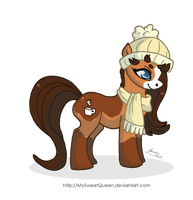 [Sold] Winter Pony by MySweetQueen