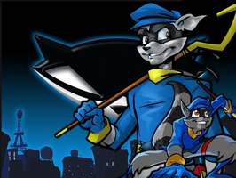Sly Cooper by blackdemondragon13